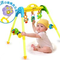 Wholesale Orange love happy growth music Gym Fitness early baby baby toys