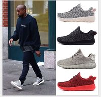 Wholesale Kanye coconut spring and autumn Korean version of men s sports lovers running shoes large size shoes