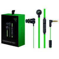 Wholesale 2016 Newest In ear gaming headset Hammerhead V2 Pro earphone wiht mic Noise isolation stereo deep bass for fone de ouvido