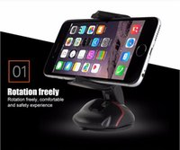 Wholesale Car Holder Creative Dashboard Car Phone Stand Holder One Touch Mouse Suction Cup Cradle For Huawei P7 P8 P9 s7 edge i6s plus Universal