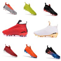 band cup - New European World Cup ACE PureControl FG Men s Soccer Shoe boots cheap original Performance Mens soccer cleats football shoes