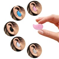 Wholesale Gold Sport Running S530 Mini Stealth Wireless Bluetooth Earphone Stereo Headphones music Headset Retail Box for iphone7 plus for note7