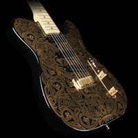 Wholesale Gold Paisley James Burton Electric Guitars China Guitarras
