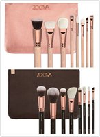 Wholesale 2016 New Zoeva Rose Golden Makeup Brush Kits face and eye cosmetics brushes with makeup bag