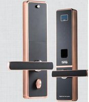 Wholesale Security Digital Fingerprint Keyless LCD Burglarproof Password Door Lock