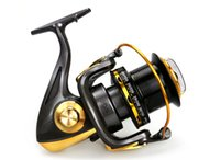 Wholesale 13BB Surf Casting Reels TF8000 TF9000 Long Cast Spinning Fishing Reel Sea Reels Salt Water Long Shot Wheel