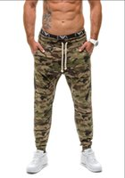 Wholesale Camouflage Cargo Pants For Men Cotton Summer Jogging Pants Slim Feet Sports And Leisure Running Pants Men