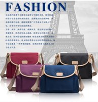 Wholesale The new female bag lightweight portable ms students Oxford cloth bags Fashion small bread