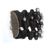 Wholesale Body Wave Human Hair Lace Frontal Closure Unprocessed Virgin Free Middle Three Part Brazilian Lace Closure Top Piece Cheap