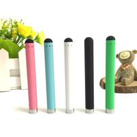 Wholesale Colorful O pen vape bud touch battery e cig thread man vpae pen e cigarette wax oil pens for CE3 vaporizer