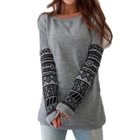 ancient clothes - Sexy Ancient Print T Shirt Slim Crew Neck Long Sleeve Primer Shirt T Shirt Womans Clothing with Ramie Fabric for Ladies TM1042