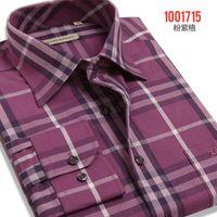 Wholesale M XL Brand Shirts Mens Casual Dress Shirts Plaid Shirt Long sleeve Men s Clothing Workwear Camisa Masculina Plus Size New