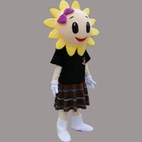 adult sunflower costumes - Hot Sunflowers Cartoon Mascot Costume Plant Sunflowers Cartoon Doll Suit Adult Size Fancy Dress Party Carnival Costume