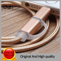 Wholesale 2016 M Fabric Braided in Micro USB Cable Charger Data Sync USB Cable Cord For Samsung Galaxy Cell phones