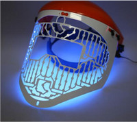 Wholesale New LED Light Therapy Face Beauty Mask Skin Photon Rejuvenation Acne Remover hot
