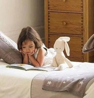 Wholesale 2015 Hot sale Rabbit soft doll baby sleep comfort toys Sleep Calm Dolls Rabbit AS310