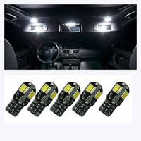 Wholesale NEW Canbus T10 smd LED car Light Canbus NO OBC ERROR T10 W5W SMD Led Bulb