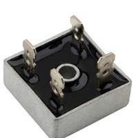 Wholesale 1Pcs KBPC5010 Volt Bridge Rectifier Amp A Metal Case V Diode Bridge Hot Top Sale