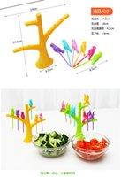 Wholesale Creative Home Kitchen Tableware Dinnerware Sets Birdie Fruit Fork Birds On The Tree Birds Fruit Forks Kitchen Accessories