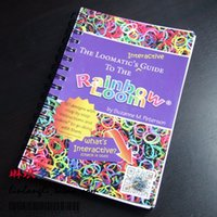 Wholesale Rainbow Loom Book The Loomatic s Interactive Guide to the Rainbow Loom Education Toys