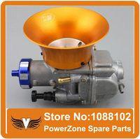 Wholesale Air Trumpet carburettor High performance racing carburetor wind cup JG100 scooter PE30 PE28 connector Carburetor