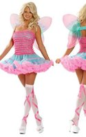 Wholesale Top Quality Sexy Cute Been Costumes Halloween Costumes For Women Lovely Bo Peep Costume F1193