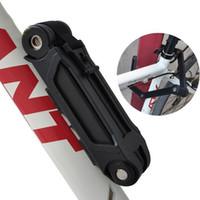 Wholesale Anti theft Bicycle Lock Professional Foldable Bike Lock MTB Road Cycle Chain Lock mm Bicycle Locks PC