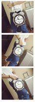 Shoulder Bags america alarm - 2016 in Europe and America brand with personality cute alarm clock small circular modelling handbags one shoulder