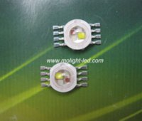 Wholesale 20PCS RGBW RGB W W W LED Lamp Emitter Diodes For Stage Lighting High Power LED mil Epistar LED Chip
