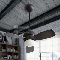 Wholesale Modern Led Leaf Ceiling Fan Lamp With Remote Control Lustres Ceiling Fan W12 Lights Fixture Home luminaire ventilador de techo