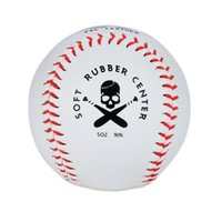Wholesale Timbows Sports Synthetic Practice Baseballs Youth Baseball Pitching Safety PVC Leather Balls Soft Rubber Center Pack of