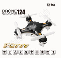 Wholesale FQ777 Pocket Drone CH Axis Gyro Professional Mini RC Quadcopter Switchable Controller RTF Headless Helicopter HHA868