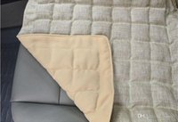 Wholesale Monolithic sided linen car seat cm Cassia health cushions backless Four Seasons car mats sofa cushion B a bag