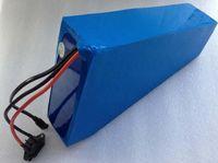 Prezzi Kit e bike-batteria di trasporto libero Triangolo bici elettrica 48v batteria di 20Ah agli ioni di litio per la bici di motorino corredo 1000W motore + caricabatteria brandnew all'ingrosso Akk