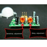 Wholesale 1Pc IR Pyroelectric Infrared IR PIR Motion Sensor Detector Module HC SR501 B00053 SMAD
