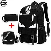 Wholesale Summer Backpack Preppy Style Backpack sea poacher Little monster creative Korean Style school bag