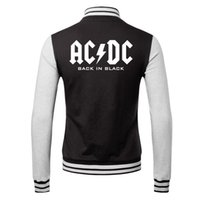 acdc single - Fall winner new hot sell Sportswear hoodie baseball uniform lover s jacket Casual coat acdc
