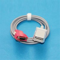 Wholesale Compatible Masimo pin Plug SpO2 Sensor Extension Cable for DB9 pin Connector Oximeter Sensor Extension Cable Medical TPU CMD0150A