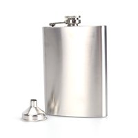 alcohol offers - Special Offer Promotion oz Stainless Steel Hip Flask Liquor Whisky Alcohol Cap Funnel Drinkware For Drinker