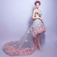 Wholesale Korean Style Wedding Dress Full Dress Tube Long Full Dress Studio LocationWedding Dress2762