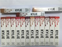 Wholesale Newest Factory Direct DHL New Makeup Lips Kylie Lip Kylie Jenner Matte Liquid Lipstick