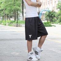 basketball shorts design - High quality Men s Knee Length Sports Shorts New Design Loose Basketball Short Drop Shipping