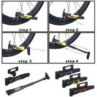 Wholesale DUUTI PP Portable mini g cycling mountain bike portable mini pump Double stroke gas mouth Bicycle Pump