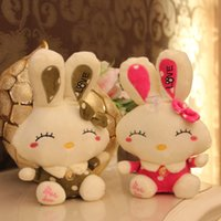 beautiful cute teddy - 18CM Cute love beautiful rabbit plush toy Doll Stuffed Animals Baby Toy for Children Gifts Wedding Gifts Gift Couple gifts