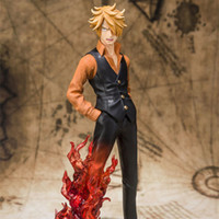 Wholesale 24cm PVC ONE PIECE action figures ZERO fighting Sanji boxed collectible doll toy model Nice gift for children