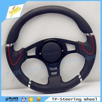 Wholesale Brand New Modified MOMO Inch Leather Steering Wheel