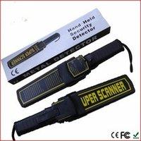 Wholesale Portable Security Handheld Metal Detector professional Stud Finder Super Hunter Scanner