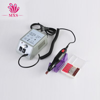 nail drill machine - Drill Nail Art Pedicure Drill Tips V V for choice Electric Manicure Toenail File Tool Grinding Machine