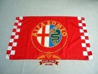 alfa romeo racing - alfa romeo racing CM flag polyester alfa romeo banner