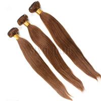 Cheap Brazilian Straight Human Hair Weave 3Bundles Lot 7A Grade Remy Hair Weaving Hot Beauty Cheap Soft Thick End Hair